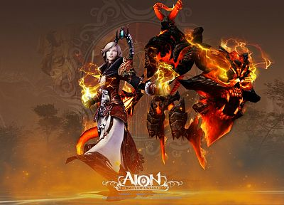 video games, tower, Aion - related desktop wallpaper
