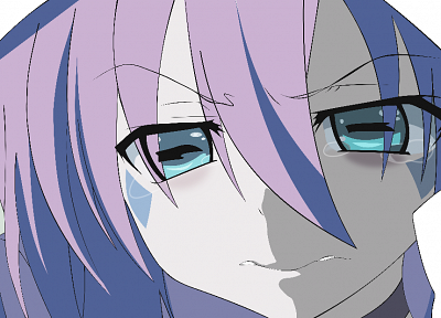 close-up, sad, Yumekui Merry, crying, Merry Nightmare, anime girls, faces - random desktop wallpaper