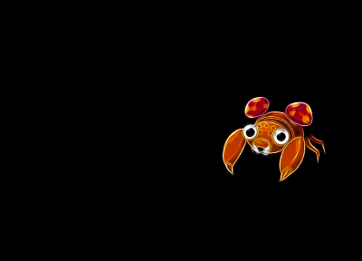 Pokemon, black background, Paras - related desktop wallpaper