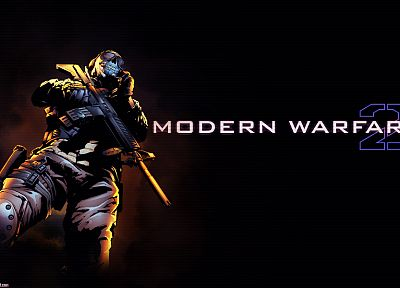 ghosts, Call of Duty: Modern Warfare 2 - random desktop wallpaper