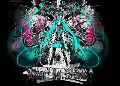 Vocaloid, Hatsune Miku, Love is War, twintails - desktop wallpaper