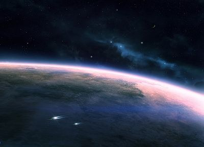 outer space, stars, planets - related desktop wallpaper