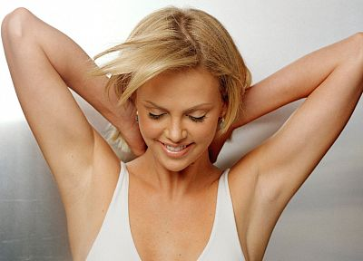 women, actress, Charlize Theron - random desktop wallpaper