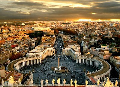landscapes, cityscapes, Rome, vatican city, cities - related desktop wallpaper
