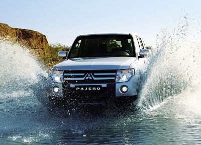 Mitsubishi, vehicles, Mitsubishi Pajero - random desktop wallpaper