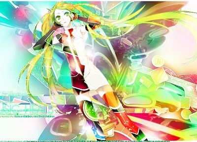 Vocaloid, Hatsune Miku, Miwa Shirow, anime girls - desktop wallpaper
