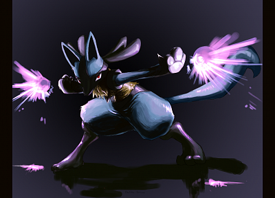Pokemon, Lucario - random desktop wallpaper
