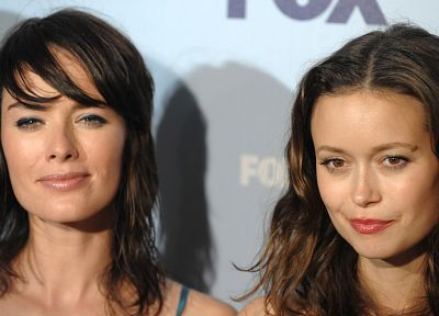 women, Terminator, actress, Summer Glau, Lena Headey - random desktop wallpaper