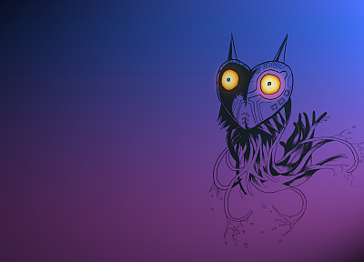 video games, minimalistic, The Legend of Zelda, The Legend of Zelda: Majoras Mask - related desktop wallpaper