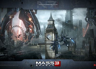reaper, London, Mass Effect 3 - random desktop wallpaper