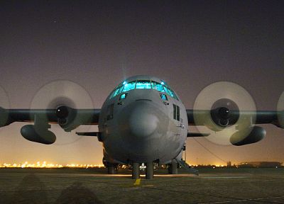 aircraft, vehicles, C-130 Hercules - random desktop wallpaper