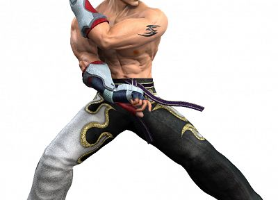 video games, Tekken, Jin - related desktop wallpaper