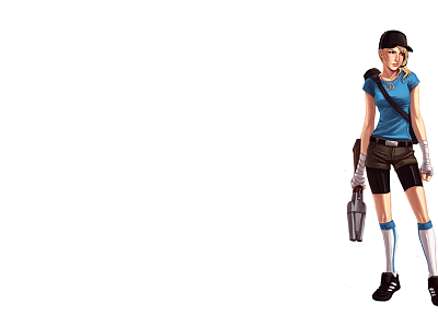 women, Scout TF2, Team Fortress 2 - random desktop wallpaper