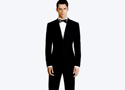 suit, models, fashion, men, bowtie, white background, tuxedo, male models - related desktop wallpaper