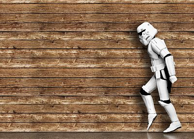wood, stormtroopers - random desktop wallpaper