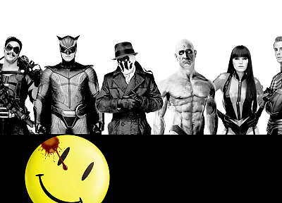 Watchmen, Rorschach, Silk Spectre, The Comedian, Nite Owl, Ozymandias, Dr. Manhattan - related desktop wallpaper