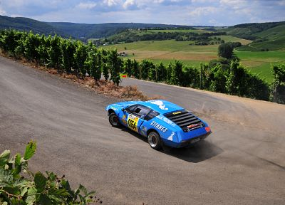 cars, Alpine (cars), Alpine Renault A310 - random desktop wallpaper