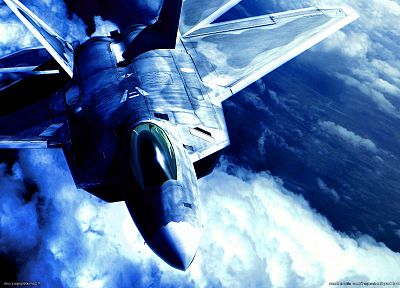 video games, aircraft, F-22 Raptor - related desktop wallpaper