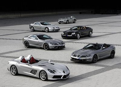 cars, Mercedes-Benz SLR Stirling Moss, Mercedes-Benz SLR McLaren - random desktop wallpaper