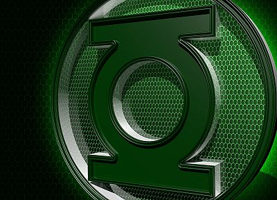 Green Lantern, DC Comics, logos - random desktop wallpaper