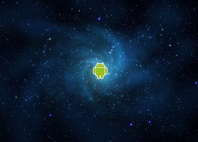 outer space, stars, Android - related desktop wallpaper