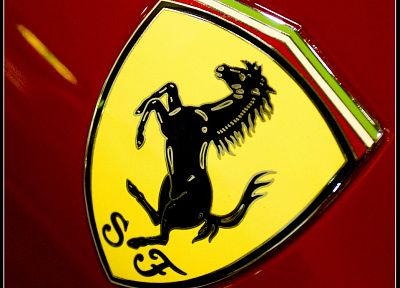 Ferrari, vehicles, logos, Ferrari Emblem - random desktop wallpaper