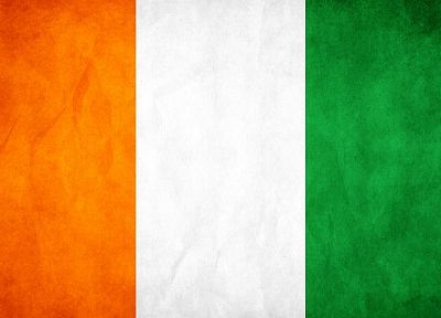 green, white, orange, flags, artwork, Ivory Coast - random desktop wallpaper