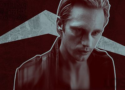 True Blood, Alexander Skarsgard - random desktop wallpaper