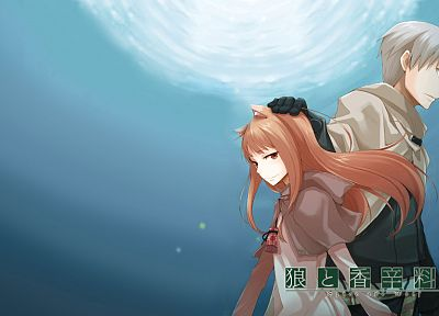 Spice and Wolf, animal ears, Craft Lawrence, Holo The Wise Wolf - related desktop wallpaper