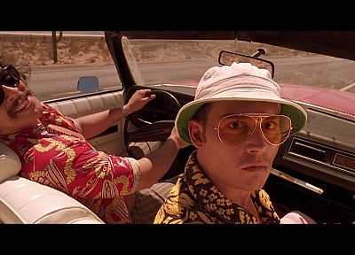 movies, cars, Fear and Loathing in Las Vegas, screenshots, sunglasses - random desktop wallpaper