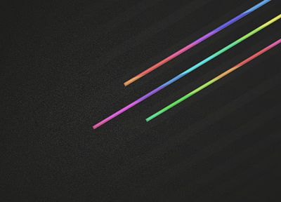minimalistic, multicolor - desktop wallpaper