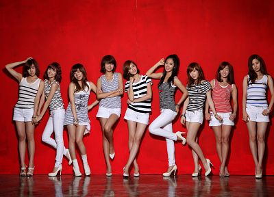 women, Girls Generation SNSD, celebrity, high heels - desktop wallpaper