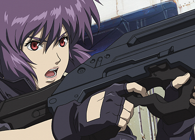 Kusanagi Motoko, shell, Masamune Shirow, Ghost in the Shell, anime girls - random desktop wallpaper