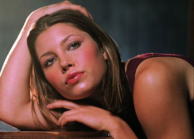 women, actress, models, Jessica Biel, celebrity - desktop wallpaper