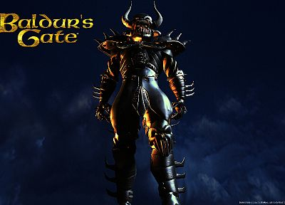 video games, armor, BioWare, Baldurs Gate - random desktop wallpaper