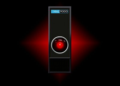 2001: A Space Odyssey, HAL9000 - random desktop wallpaper