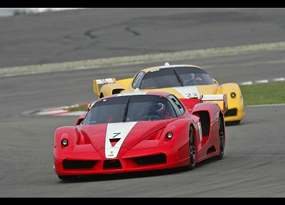 cars, Ferrari, vehicles, Ferrari FXX - random desktop wallpaper