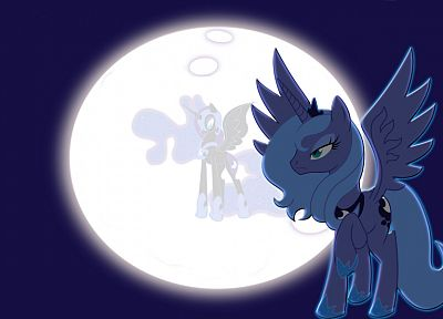Moon, My Little Pony, Princess Luna, Nightmare Moon - random desktop wallpaper