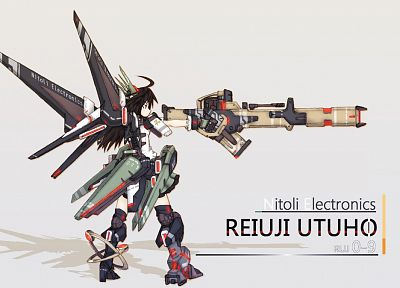 video games, Touhou, weapons, Reiuji Utsuho - related desktop wallpaper