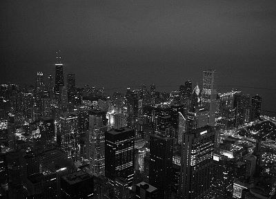 black, cityscapes, architecture, buildings - desktop wallpaper
