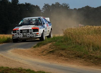 Audi, rally, vehicles, WRC, rally-cross, Quattro, Group B rally - random desktop wallpaper