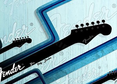Fender, guitars, stratocaster - random desktop wallpaper