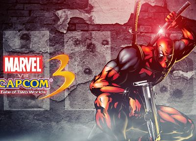 video games, Marvel vs Capcom, artwork, Bosslogic, Marvel vs Capcom 3 - random desktop wallpaper