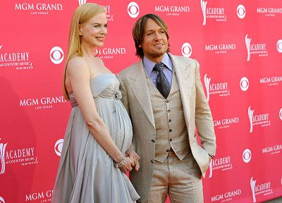 actress, Nicole Kidman, Keith Urban - random desktop wallpaper