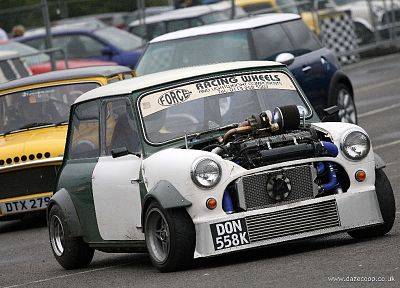cars, mini cooper, vehicles, tuning, modified, front angle view - random desktop wallpaper