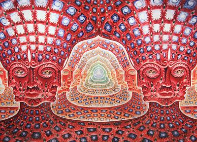 abstract, music, Tool, grey, psychedelic, music bands, alex grey - desktop wallpaper