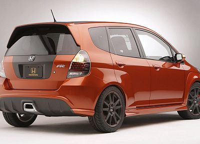 cars, Honda Fit - desktop wallpaper