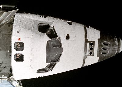 outer space, Space Shuttle, Atlantis, astronauts, Space Shuttle Atlantis - random desktop wallpaper