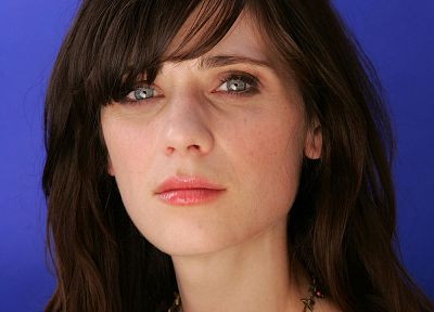 women, Zooey Deschanel - random desktop wallpaper