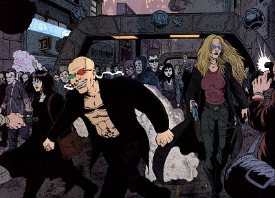 Transmetropolitan, Spider Jerusalem - related desktop wallpaper